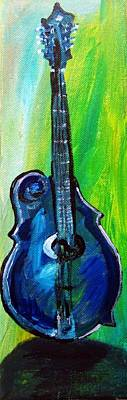 Guitar 1 Art Print by Amanda Dinan