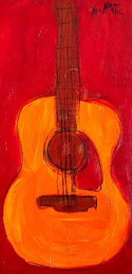 Guitar Painting - Guitar 2 by Karl Haglund