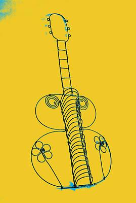 Guitar 2 Art Print by Mauro Celotti