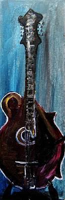 Guitar 3 Art Print by Amanda Dinan