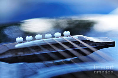 Photograph - Guitar Abstract 4 by Kaye Menner