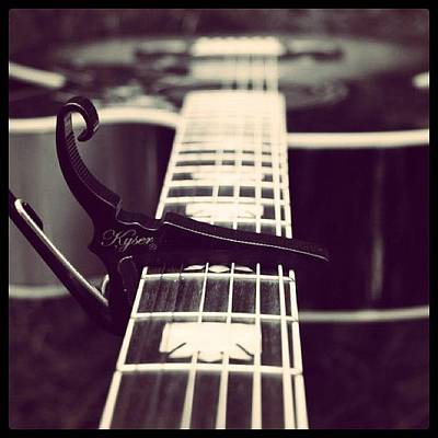 Guitar Photograph - #guitar #beauty by KLH Streets Photography