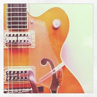 Guitar Photograph - Guitar  by Chris Fabregas