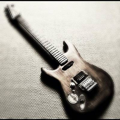 Guitar Photograph - #guitar #guitars #me #beautiful #axe by Max Guzzo