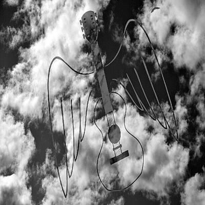 Celebrities Wall Art - Photograph - Guitar Hero by Daryl Macintyre