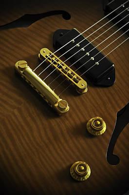 Guitar Art Print by Mauricio Jimenez