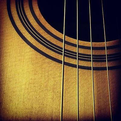 String Instrument Wall Art - Photograph - #guitar #music #random #pretty by Bex C
