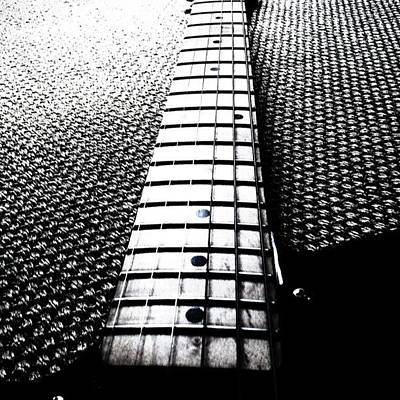 Music Photograph - #guitar #neck #fender #telecaster by Max Guzzo
