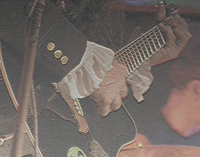 Photograph - Guitar Player by Joseph G Holland