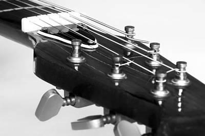 Guitar Art Print by Svetlana Sewell
