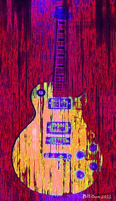 Martin Photograph - Guitart by Bill Cannon