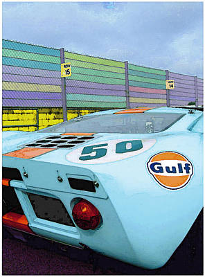 Gulf 50 Art Print by Kenneth Breeze