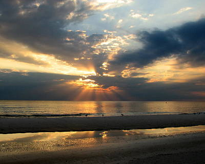 Gulf Photograph - Gulf Coast Sunset by Carla Parris
