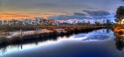 Gulf Shores From The Bayou Original
