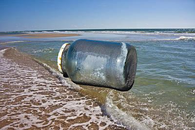 Shore Digital Art - Gulliver's Jar by Betsy Knapp