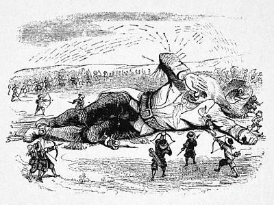 Lilliput Photograph - Gullivers Travels by Granger
