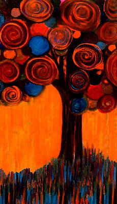 Painting - Gumball Tree 00013 by Monica Furlow