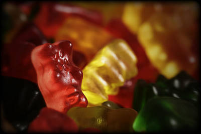 Photograph - Gummi Bears by Rick Berk