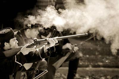 Photograph - Guns N Smoke by Emily Stauring