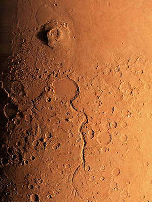 Gusev Crater And River, Mars Print by Detlev Van Ravenswaay