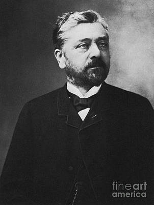 Photograph - Gustave Eiffel, French Architect by Photo Researchers