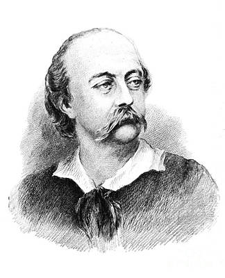 Gustave Flaubert, French Author Art Print by Photo Researchers