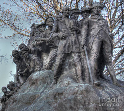 Photograph - Gutzon Borglum's Wars Of America by Lee Dos Santos