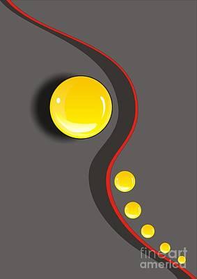 Digital Art - Gv039 by Marek Lutek