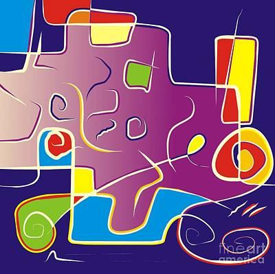 Digital Art - Gv050 by Marek Lutek