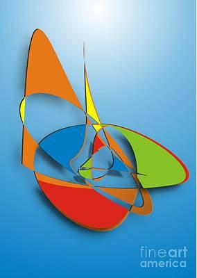Digital Art - Gv064 by Marek Lutek