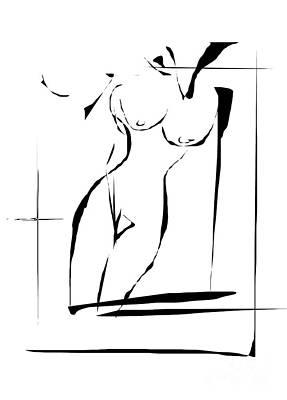 Digital Art - Gv086 by Marek Lutek