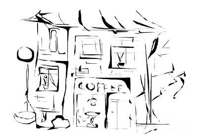 Digital Art - House 092 - Marucii by Marek Lutek