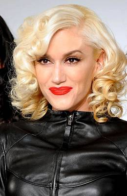Gwen Stefani In Attendance For L.a.m.b Art Print
