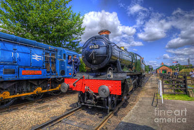 Photograph - Gwr 4900 Class 4953 Pitchford Hall by Yhun Suarez