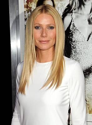 Gwyneth Paltrow At Arrivals For Country Art Print by Everett