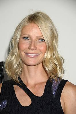 Gwyneth Paltrow Photograph - Gwyneth Paltrow In Attendance by Everett