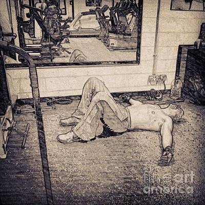 Sports Wall Art - Photograph - #gym #sport #relax #1stangel by Abbie Shores