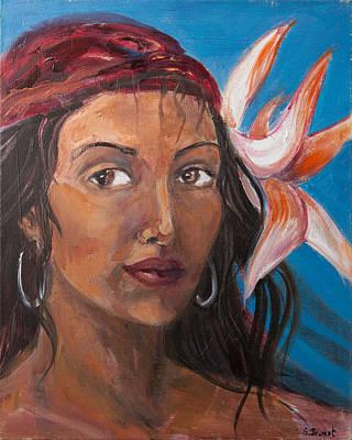 Gypsy Art Print by Sophie Brunet