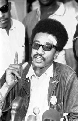 H. Rap Brown, Chairman Of The Student Art Print