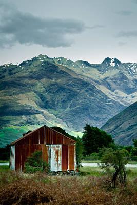 Photograph - Haast Pass House 1 by Jonathan Hansen