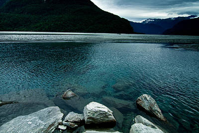 Photograph - Haast River 1 by Jonathan Hansen