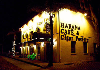 Photograph - Habana Cafe And Cigar Factory by Ginny Schmidt