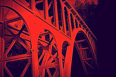 Haceta Head Bridge Art Print