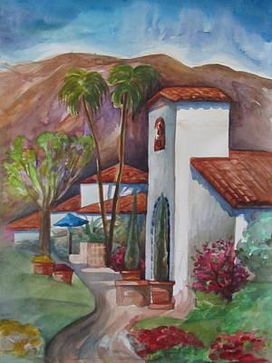 Painting - Hacienda by Veronique Branger