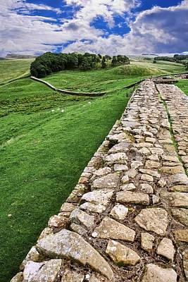 Hadrian's Wall Art Print by Wendy White