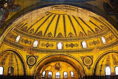 Hagia Sophia Architecture Art Print by Artur Bogacki