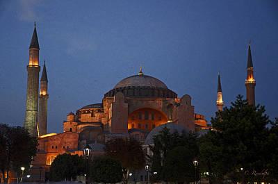 Photograph - Hagia Sophia by Cheri Randolph