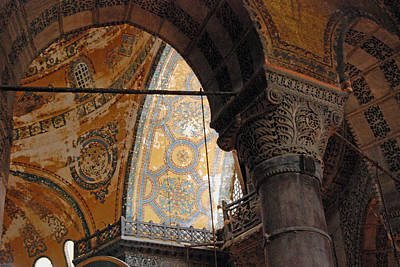 Photograph - Hagia Sophia by Harvey Barrison
