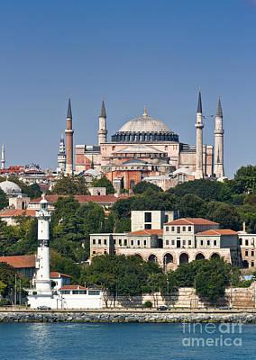 Bosphorous Photograph - Hagia Sophia Istanbul by Andrew  Michael