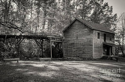 Photograph - Hagood Mill by David Waldrop
